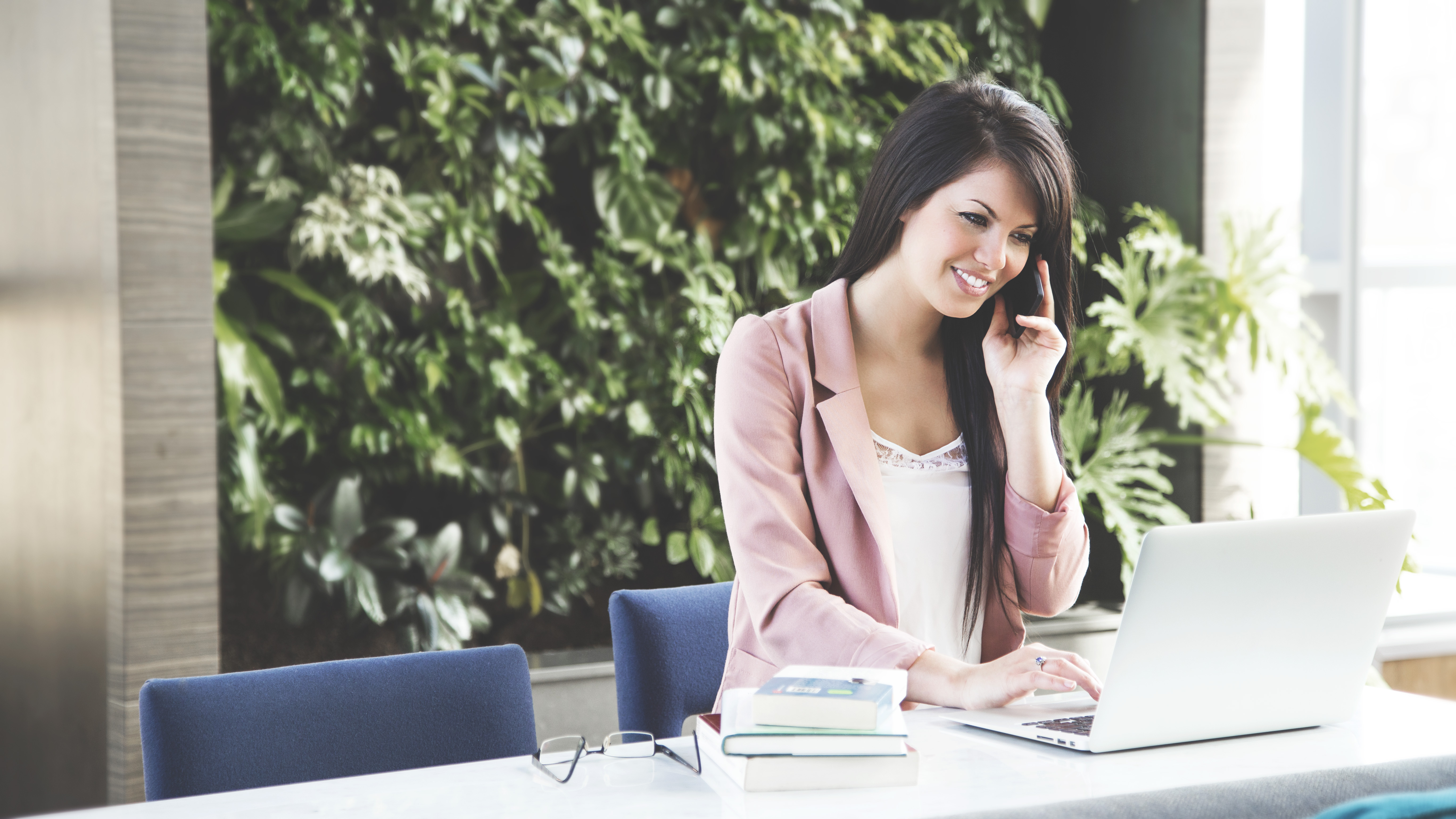 becoming a better listener woman on the phone image