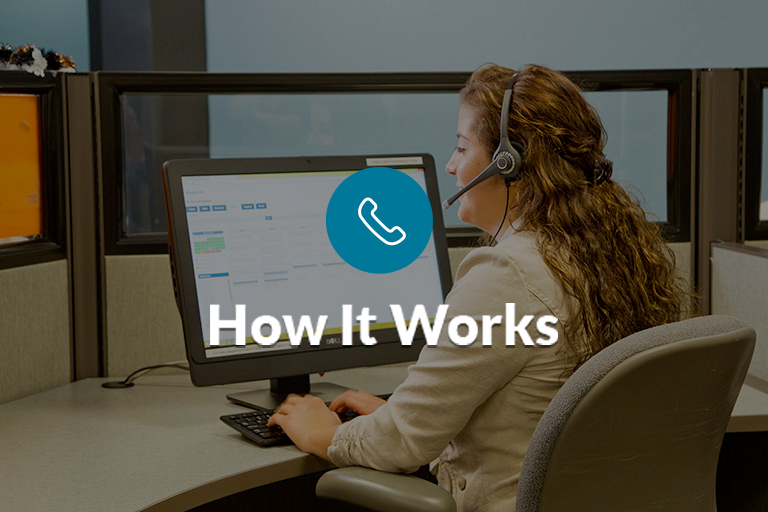 How Virtual Receptionist Service Works