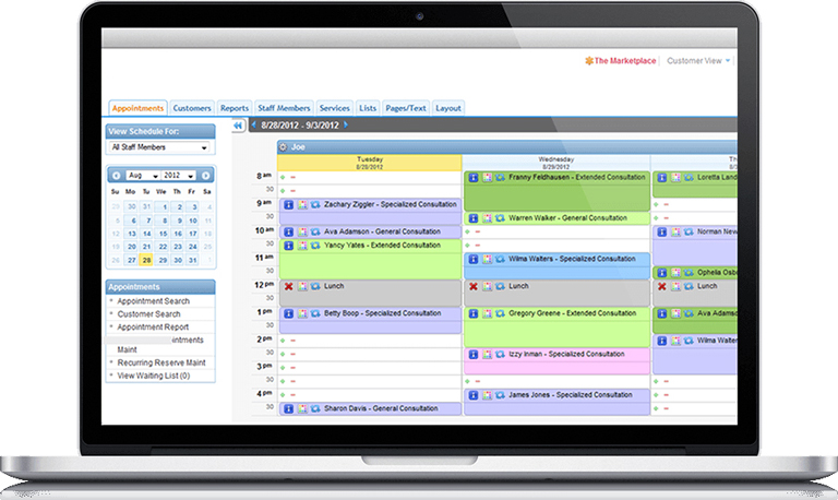 Online Scheduling Features